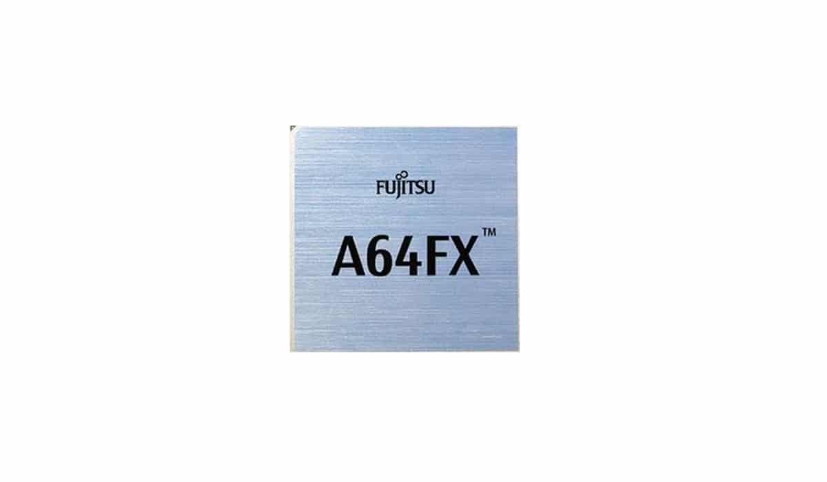 chip Fujitsu A64FX