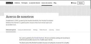 La reestructuración de Mozilla