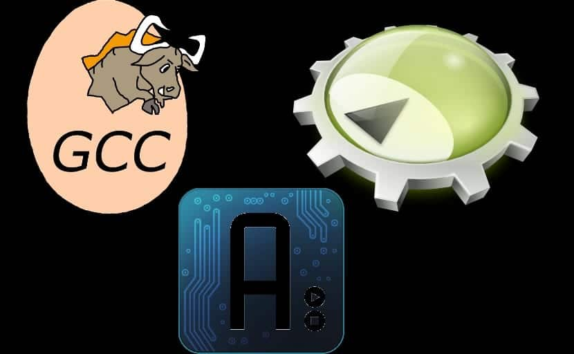 Logo GCC, KDEVELOPER Y ARDUINO IDE