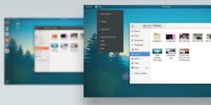 GNOME menu actual