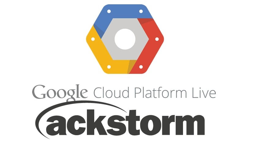 LOgo Google Cloud PLatform y Ackstorm