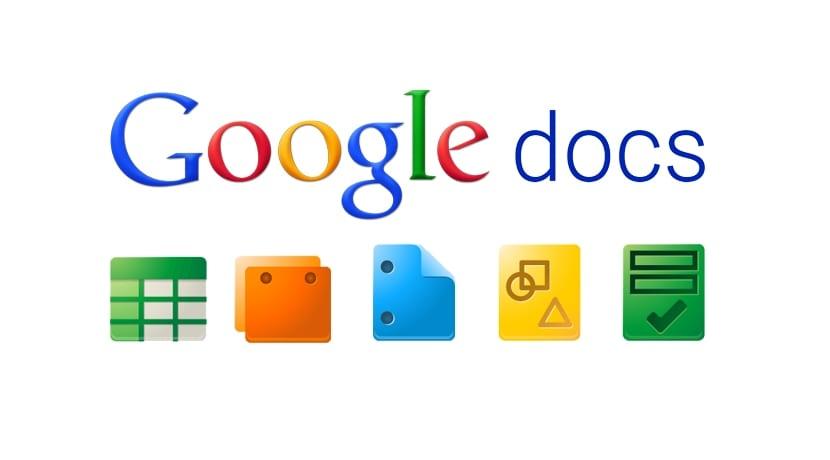 Iconos Google Docs