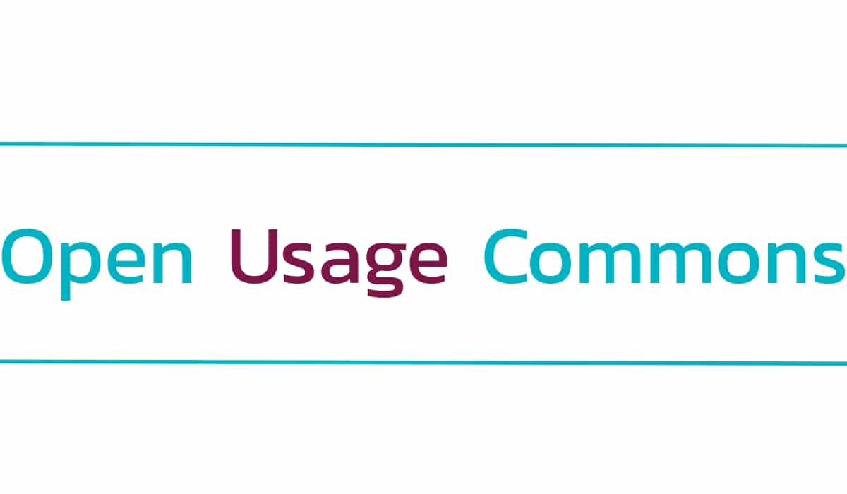 Google Open Usage Commons logo