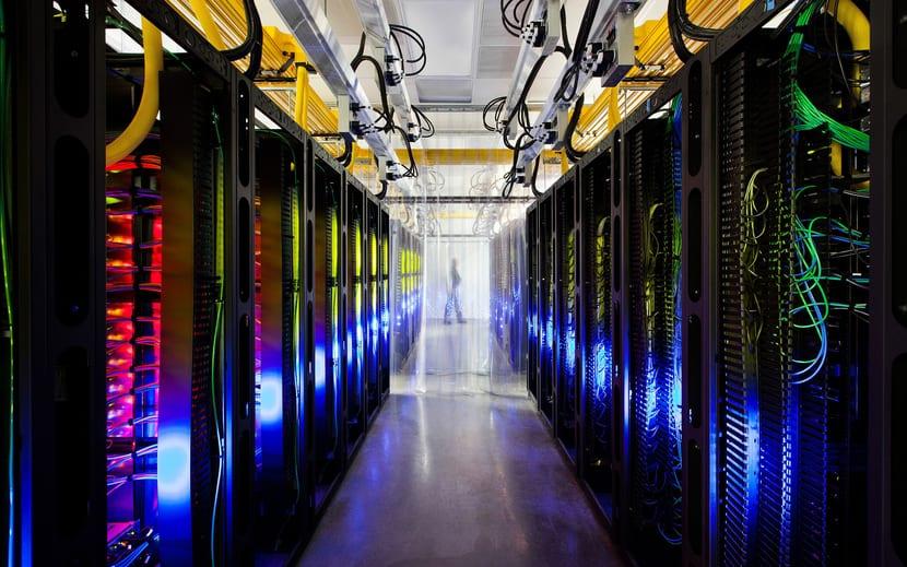 Granaja de servidores que pueden tener LAMP en sus entrañas