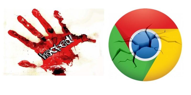 Logo de Chrome OS roto