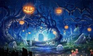 estampa de Halloween