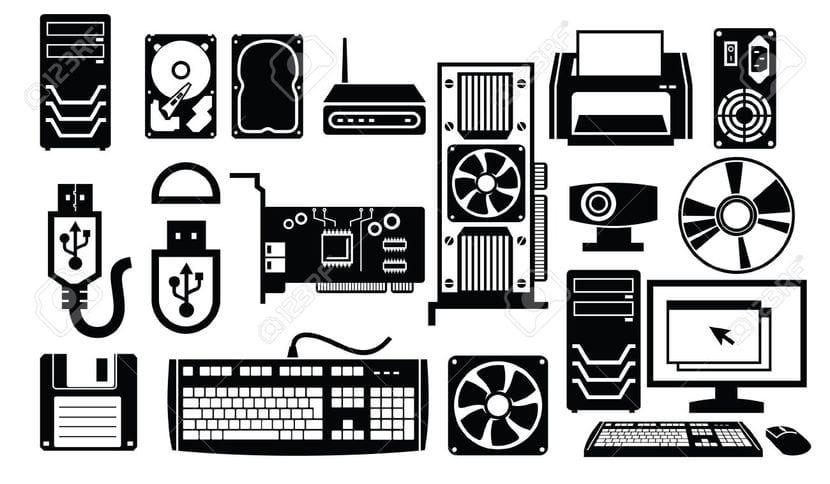 Hardware iconos