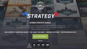 Humble Bundle de estrategia (pantalla)