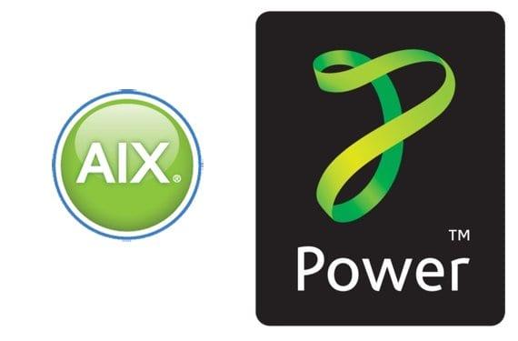 Logo AIX y Power