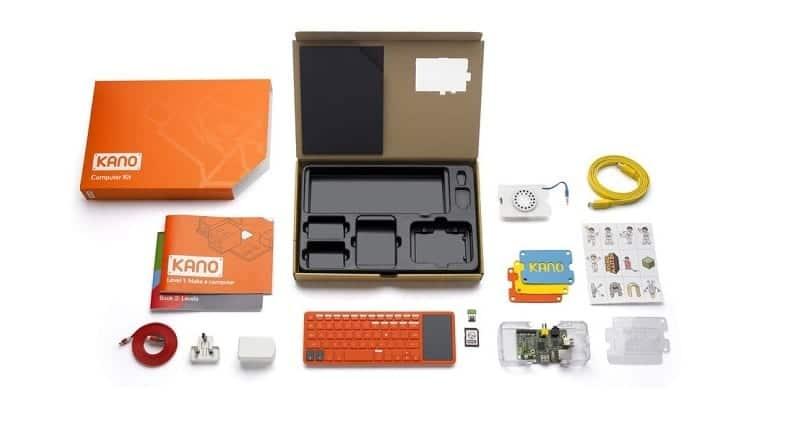 Componentes del kit completo Kano