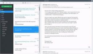 KDE Kube, centro de comunicación