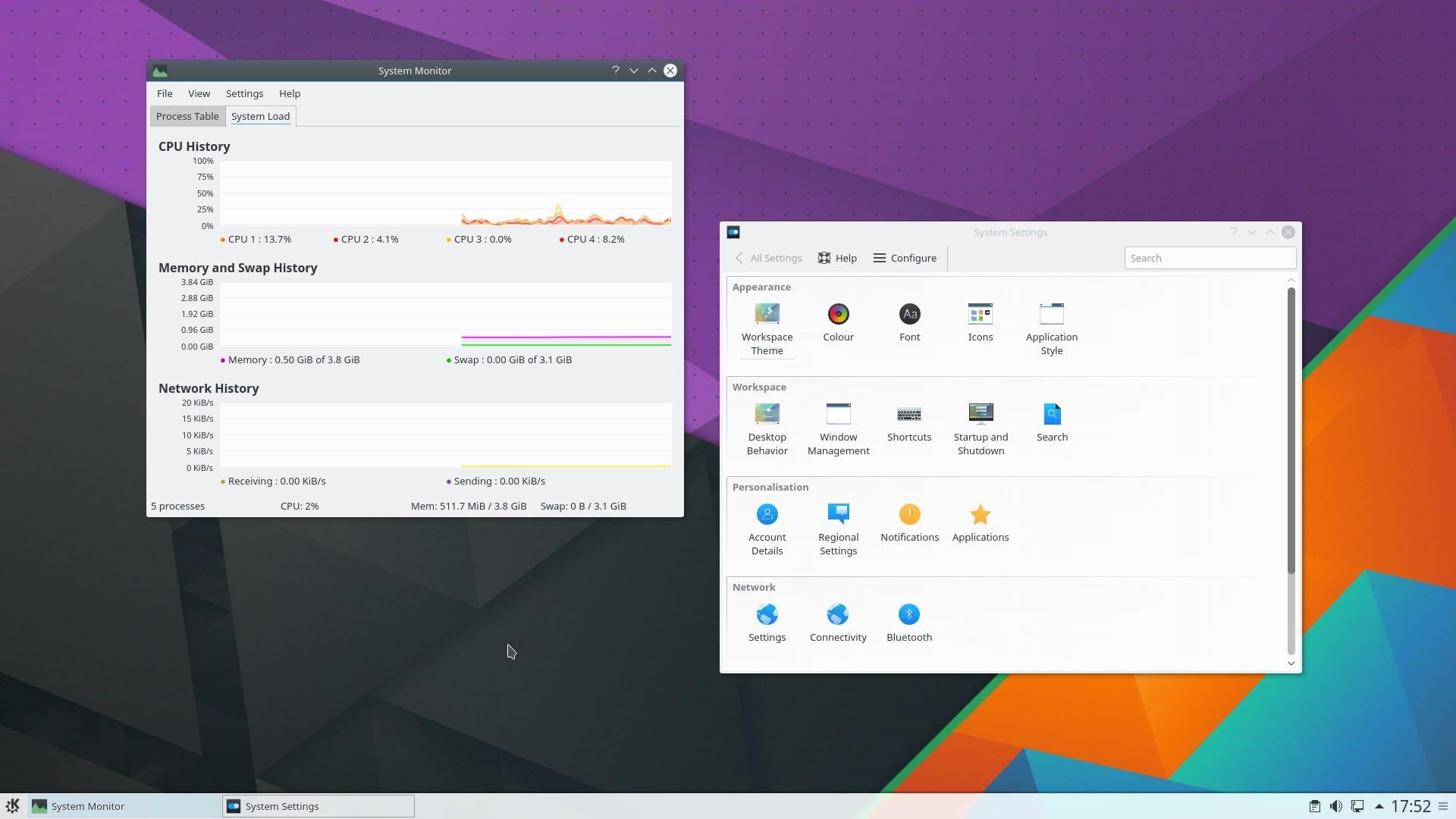 foto KDE Plasma 5.6