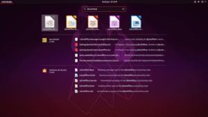 Lanzadores de LibreOffice