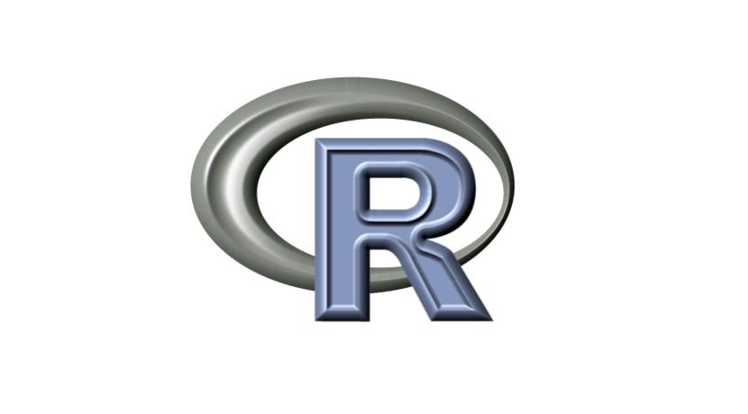 Lenguaje de programación R logo