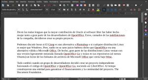 Qué hay detrás del código. Historia de LibreOffice