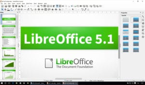 LibreOffice WRITE 5.1