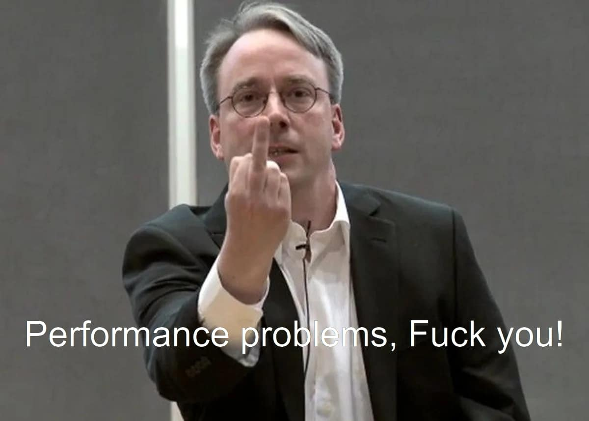 Linus Torvalds, Fuck you