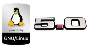 Linux 5.0 logo