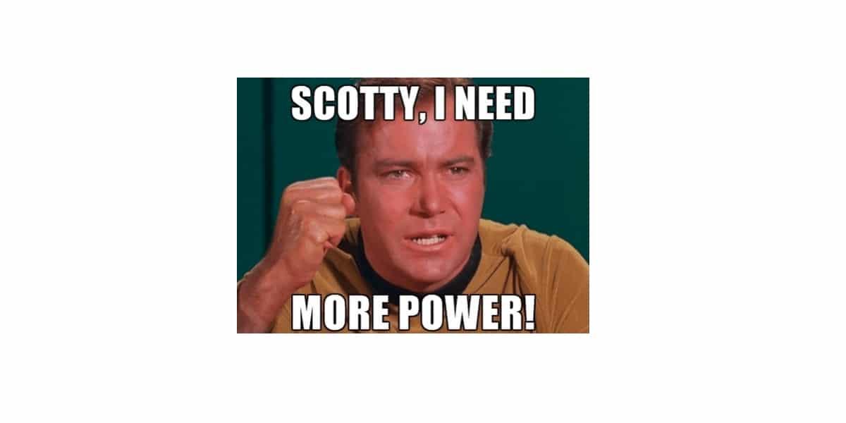 Más potencia, meme