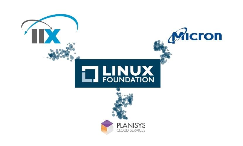 Logo miembros nuevos de la LInux FOundation