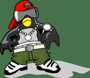 Tux rapero