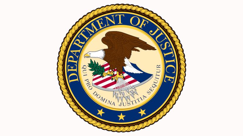 Logo del Departamento de Justicia de EE.UU