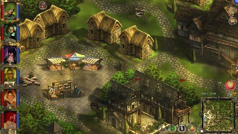 Captura de pantalla de Lords of Xulima