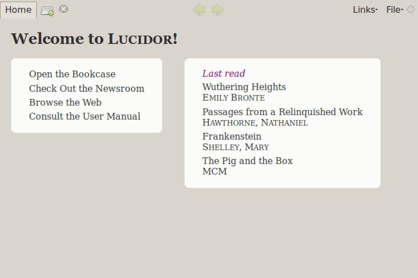 Lucidor: Un Lector De Libros Electrónicos Multiplataforma