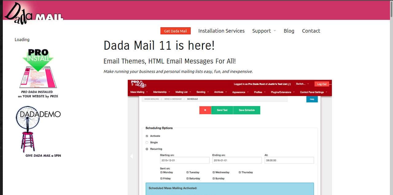 Algunas alternativas a MailChimp