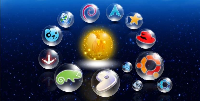 Logos de Distribuciones Linux 2016
