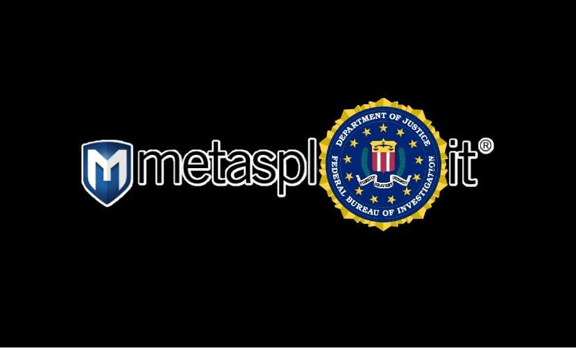 logo de Metasploit y del FBI