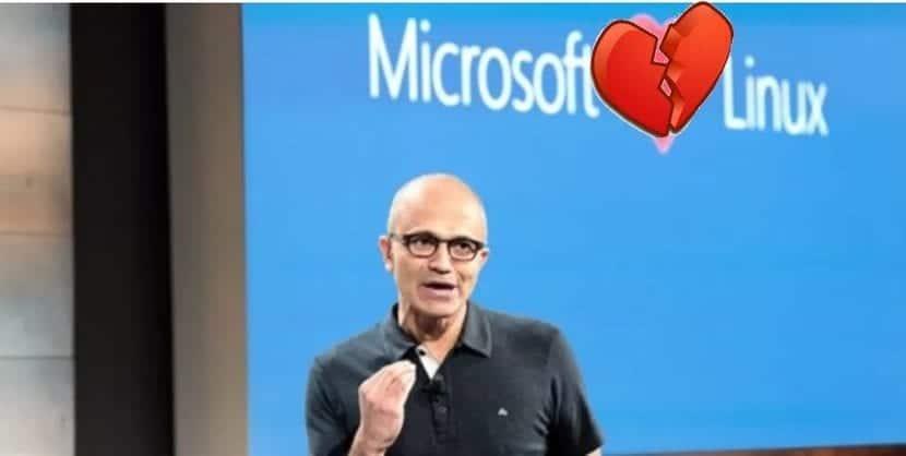 Microsoft odia a Linxu