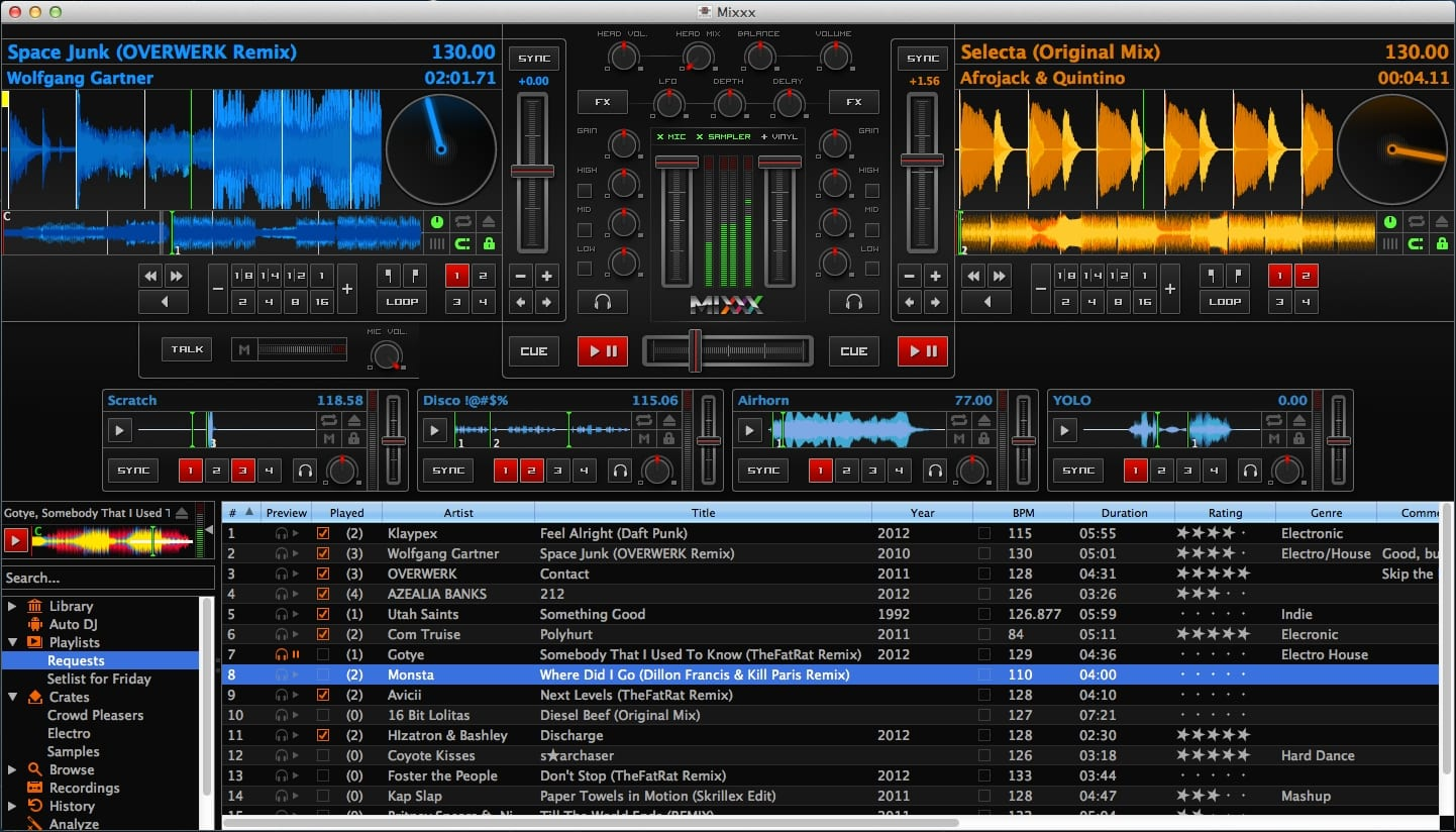 Alternativa para Virtual Dj: Mixxx 2.0 disponible para Linux