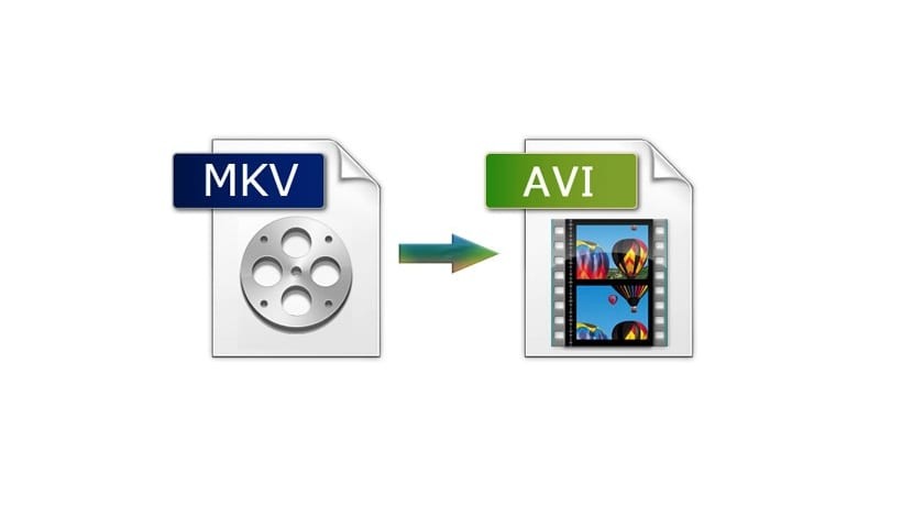 Conversor MKV a AVI logos