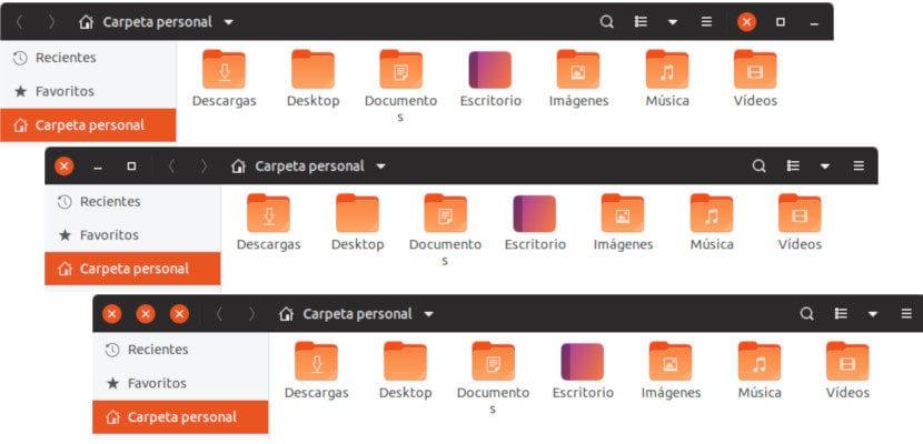 mover los botones en Ubuntu