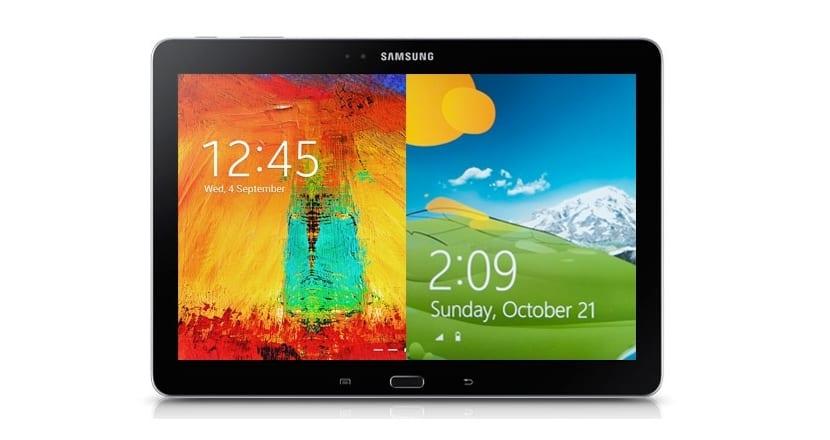 Multi-OS tablet