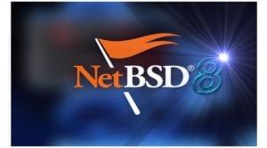 NetBSD 8 logo