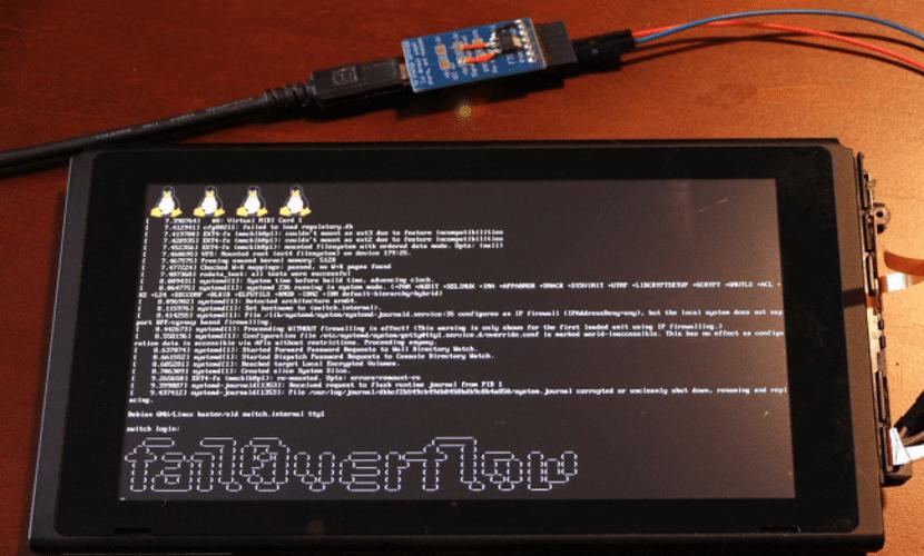 Nintendo Switch con Linux
