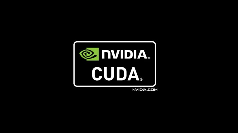 NVIDIA CUDA versión
