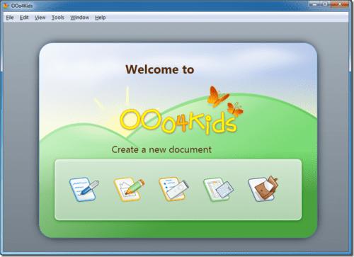 OOo4kids, suite ofimática para los más pequeños