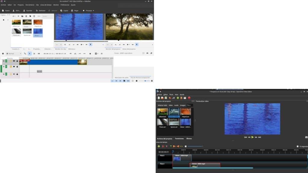 Esta es mi opinión sobre Kdenlive y OpenShot