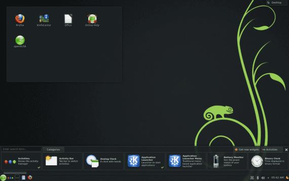 openSUSE 12.3 KDE SC 4.10