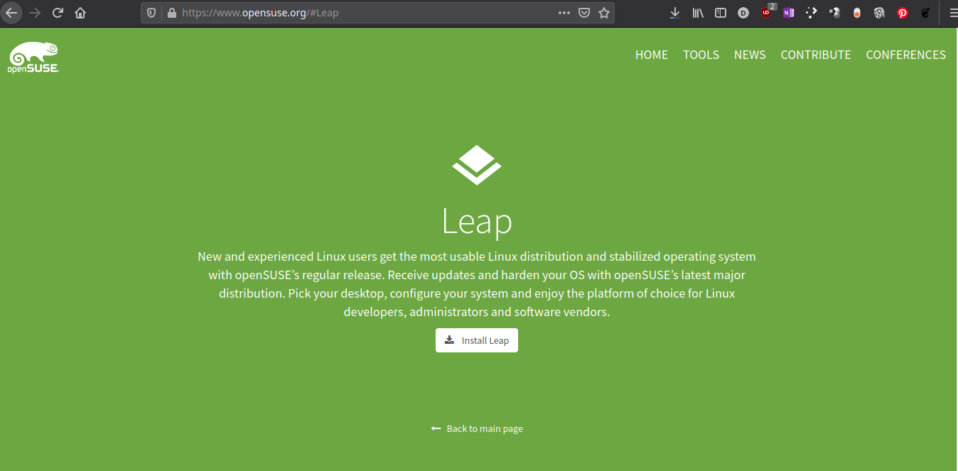 openSUSE 15.3 Leap disponible