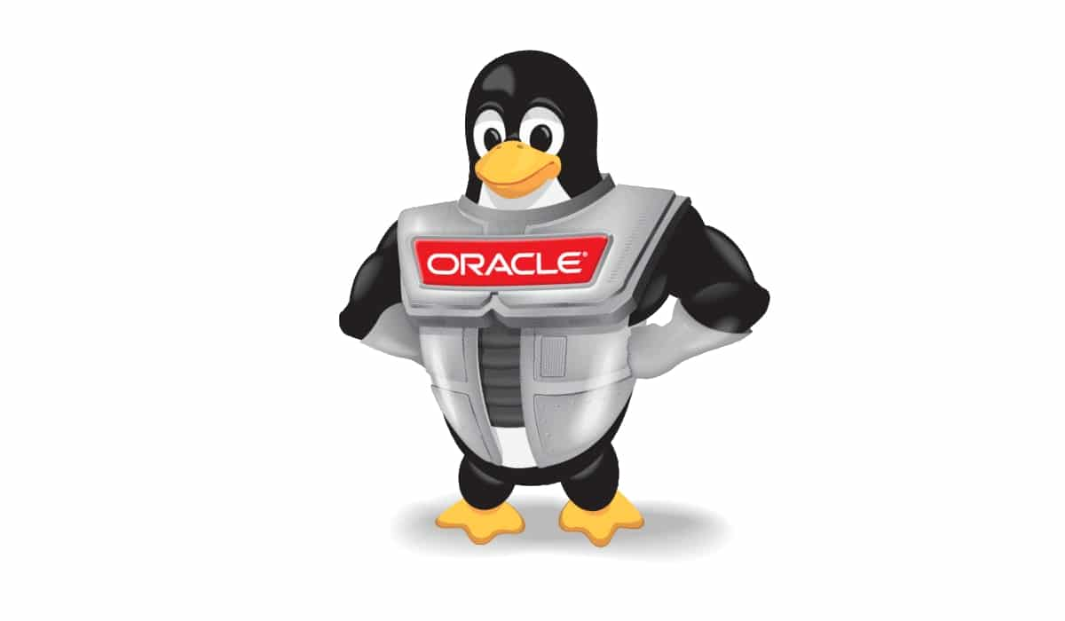 Oracle logo Tux