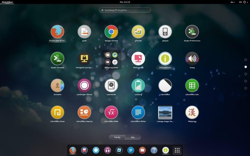 Ozon OS Linux aspecto