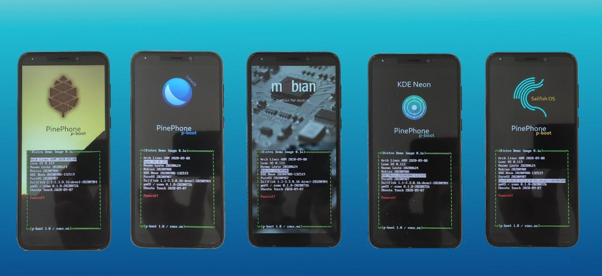 p-boot, para hacer multibook con el PinePhone