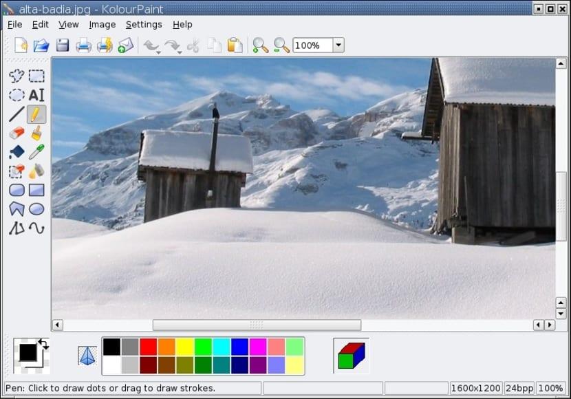 Paint en Linux