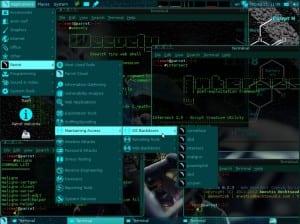 Parrot OS Linux escritorio