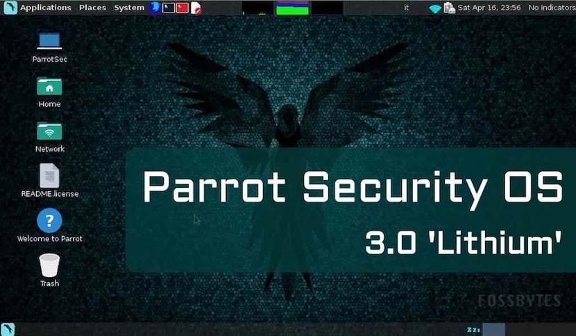 ParrotSec 3.0 escritorio