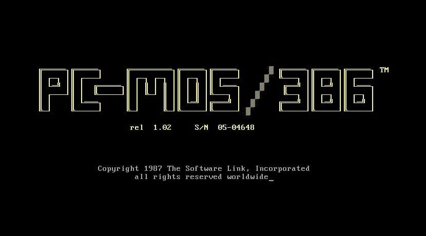 PC-MOS sistema operativo
